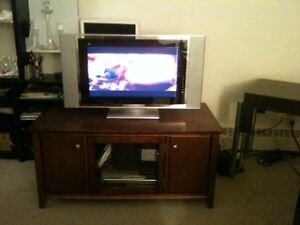 BANFF   Immediate Solid wood entertainment cabnet