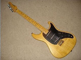 80s Vintage Ibanez Blazer Electric Guitar Natural Wood Finish Super Sixty PUPs Awesome Amazing Japan