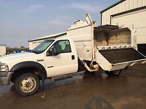 2006 Ford Haul All Compacting Garbage Truck