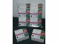 2X FULL SETS OF BROTHER LC900 INK CARTRIDGES,