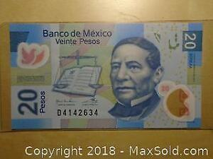2016 Mexico World Bank Note