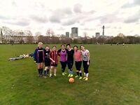 Casual ladies football at Regents Park, London on Saturdays at 10.30am