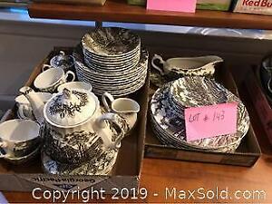 Vintage Porcelain Set