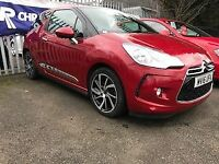 DS DS 3 1.6 BLUEHDi DSTYLE NAV 3dr (red) 2016