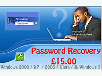 password remover dont pay £15 or even £30 . this removes lost passwords