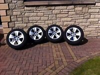 BMW 5 Series Alloy wheels including winter tyres