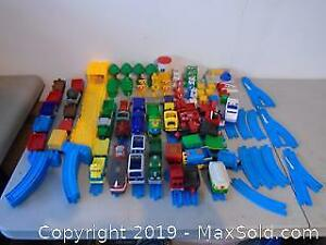 Assort Fisher Price Little People Train Set and more