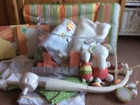 Mamas and Papas Ellie and Mop nursery set