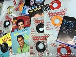 Records 45s Elvis