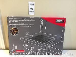 Weber Cast-Iron Gas Grill BBQ Cooking Grates in Box