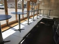 RESTAURANT AND CATERING EQUIPMENT JOB LOT OF 20 BISTRO TABLES