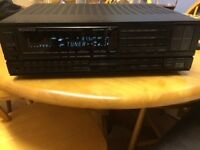 Kenwood KR-V87R stereo 80 watt channel amp reciever with remote