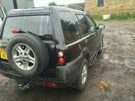 Land rover freelander 1 rear bumper