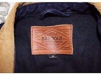 Medium Barbour International denim jacket