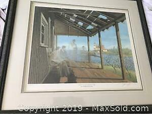 Lumbers Picture Signed Limited Edition