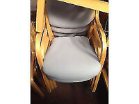 Laliac Stackable Chairs with Beech Arms