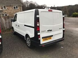 RENAULT TRAFIC 1.6 SL27 BUSINESS ENERGY DCI 95 BHP (white) 2016