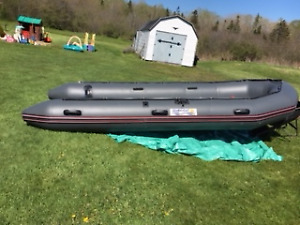 GREAT BARGAIN on a 15 Foot Inflatable Boat