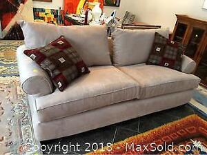 Microfiber Sofa C