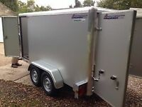 NEW 10x5x6 INDESPENSION BOX TRAILER saving of £366 of r.r.p
