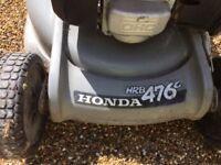 Honda HRB 476c Mower