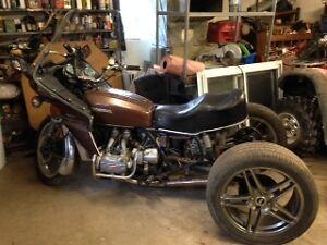 1976 Honda Goldwing Trike