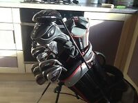 Benross Golf - Full Set of Irons / Wedges / Driver / 2 Fairway Woods / Putter / Carry Bag with Stand