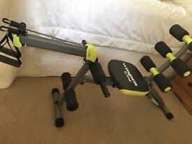 Wonder Core 2 Fitness Trainer. Like new. Great for working the Abs. DVD and instruction book