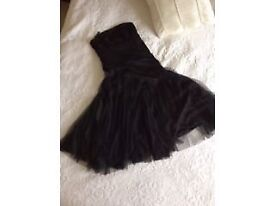 Black Monsoon Dress (worn once!) Size 10 - Prom / After Prom / Special Occassion