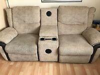 la z boy sofas 2 x2 seaters plus centre console *** £895 ono ***