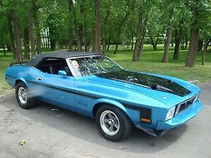 1973 Mustang Convertible Mint Condition