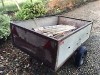 Car Trailer in need of some attention