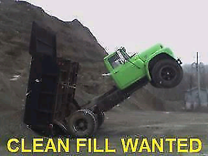 Clean fill wanted!