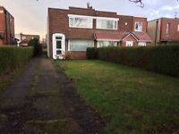 2-bedroom semi-detached house for sale, great for first time buyers or developer.