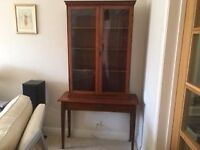 mahogany Victorian / Edwardian bookcase with drawer