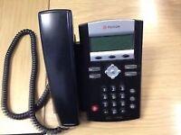 X 4 Polycom Digital Telephones, Soundpoint IP335 SIP