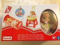 Mini baby doll set