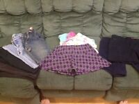 Girls size 14 jeans & Skirts Lot FF