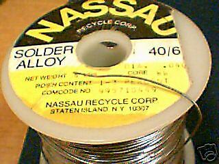 4# Western Electric NASSAU solder rare .040