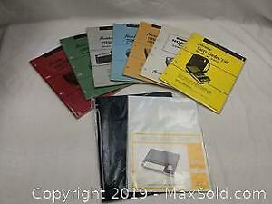 Vintage Norelco 1960s Service Manuals and more