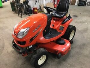 "Kubota GR2110 Diesel Lawn tractor with 54"" deck"