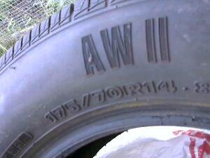 4 tires used Dodge Neon SX 2.0 Very good condition all season Kingston Kingston Area image 8