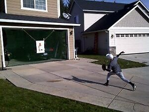 BASEBALL SOCCER HOCKEY GOLF SOFTBALL GARAGE DOOR NET NEW $45 ...