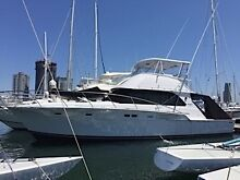 """BERTRAM 46 SPORTSFISHER """"EAGLE 1""""  Moored SOUTHPORT YACHT CLUB Main Beach Gold Coast City Preview"""