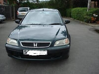 honda civic 1.6 auto low mileage 90000 miles, ideal for 1st car