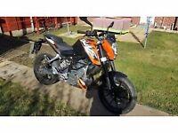 KTM DUKE 125cc 2014 MOTORBIKE MOTORCYCLE 125 15HP NOT HONDA YAMAHA SUZUKI