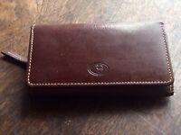 Brown Leather Ladies Purse/Wallet
