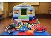 Children's bouncy castle and soft play