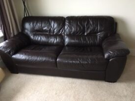 3 seater sofa and reclining chair