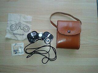 Binoculars high quality Courier Japan Porro Prism Miniature 8x20 binoculars J-B231, No58850 like new